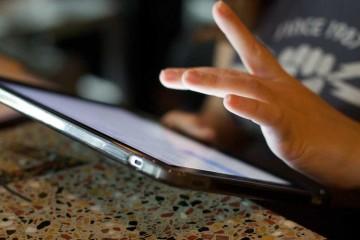 iPad food