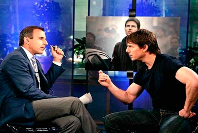 Tom Cruise argument