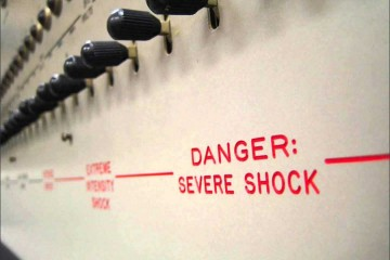 Stanley Milgram experiment electric shock