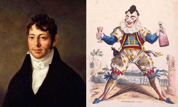Joseph Grimaldi - clown