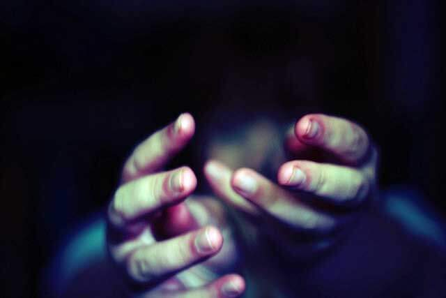 Hands outstretched