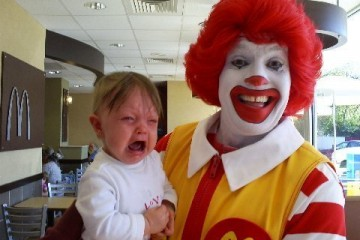 Scary Ronald McDonald Clown